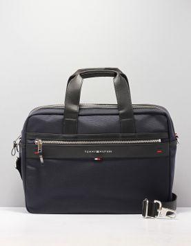 Hilfiger Elevated Computerbag Tassen Am0am02962413 Midnight Blue 113715-71 1