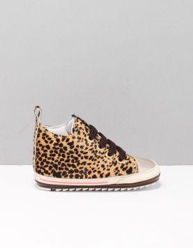 Shoesme Bp7w004 Schoenen Met Veters A Leopard 114913-19 1