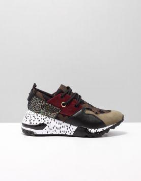 Steve Madden Cliff Sneakers Olive 115708-89 1