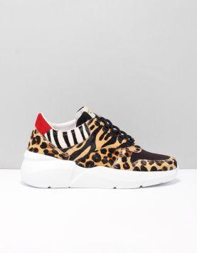 Nubikk Lucy Pony Sneakers Leopard 116258-19 1