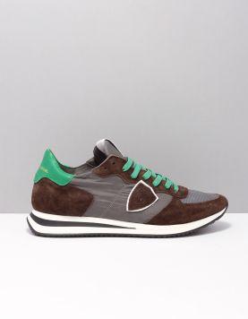 Philippe Model Tzlu-tropez X Sneakers W004 Antracite Brun 116952-19 1