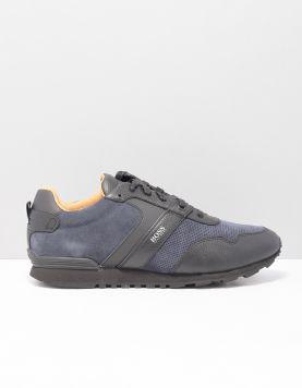 Boss Green Parcour Run Sd Sneakers 50411214-461 Open Blue 117229-71 1