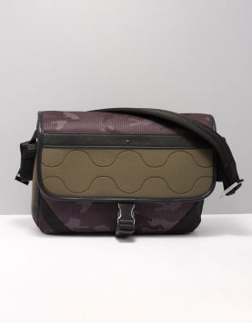 Hilfiger Elevated Messenger Tassen Am0am05029lfh Grape Leaf 117921-89 1