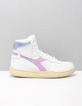 Diadora Heritage Mi Basked Used Sneakers C8754 Violet Winter Sky 118101-50 1