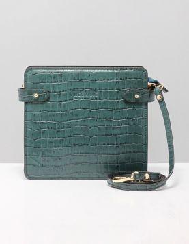 Neuville Mama Tassen Croco Turquoise 118149-78 1