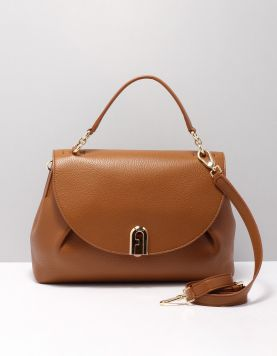 Furla Sleek M Top Handle Tassen Bzpo-1057265 Cognac 118345-13 1