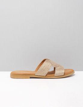 Mia & Jo Keet Slippers 2012642 Champagne 119206-90 1