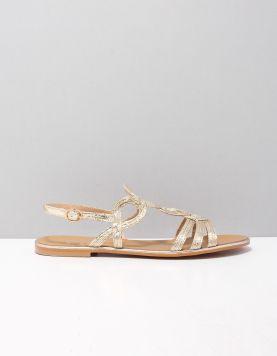 Ella Cruz Kerenza Slippers 2014244 Gold 119213-90 1