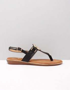 Ella Cruz Honya Slippers 2014268 Black 119214-08 1