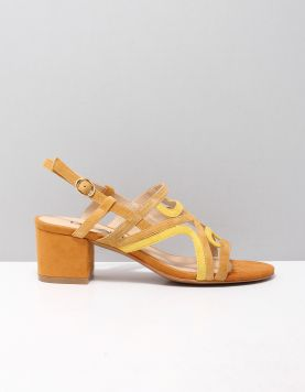 Di Lauro Kyana Slippers 2016780 Camel-yellow 119241-49 1