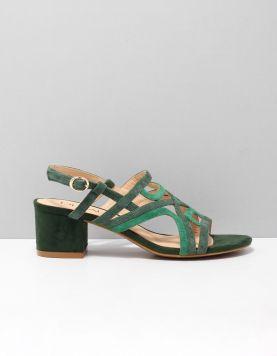 Di Lauro Kyana Slippers 2016781 Green-green 119241-89 1