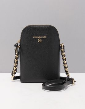 Michael Kors Phone Crossbody Tassen 32t0gt9c1l-001 Black Gold 119337-08 1