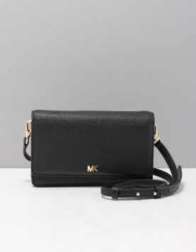 Michael Kors Mott Phone X-body Tassen 32t8gf5c1l-001 Black Gold 119338-08 1