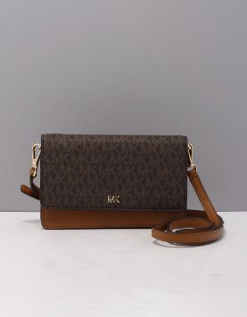 Michael Kors Mott Phone X-body Tassen 32t9gf5c0l-252 Brown Acorn 119338-19 1