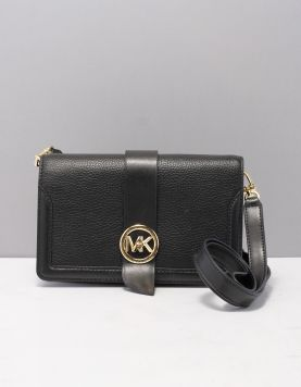Michael Kors Md Triple X-body Tassen 32s0g00c8l-001 Black Gold 119339-08 1