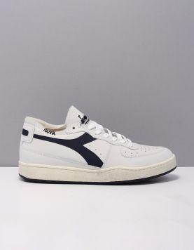 Diadora Heritage Mi Basket Row Cut Sneakers C1494 White-corsair 119460-50 1