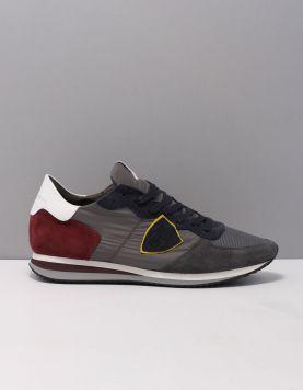 Philippe Model Tzlu-tropez X Sneakers W053 Mondial Antracite 119522-23 1