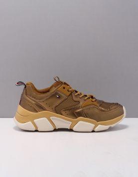 Hilfiger Chunky Sneaker Sneakers Fw0fw05228olj Dark Gold 119665-90 1