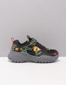 Skechers 402235 Schoenen Met Veters Bklm Black Lime 119715-08 1