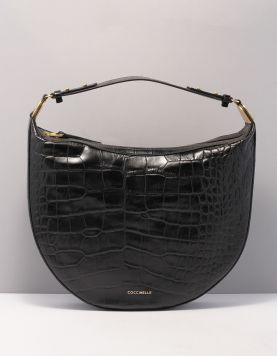 Coccinelle Anais Croco Maxi Tassen E1gh4130301-001 Noir 119957-08 1