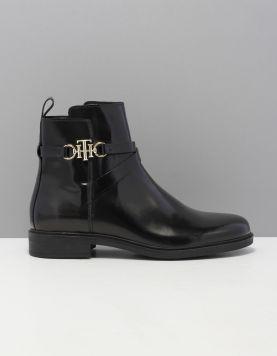 monogram-flat-boot